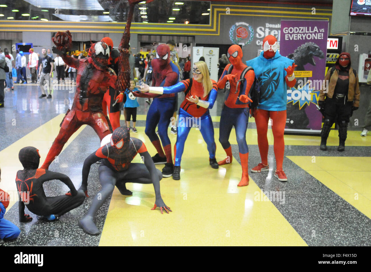 51f1c528f Wizard World Comic Con Chicago 2015 at the Donald E. Stephens Convention  Center in Rosemont - Day 2 - Inside Featuring: Atmosphere Where: Rosemont,  ...