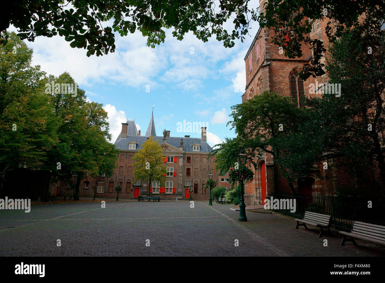 PIETERSKERKOF BEAUTIFUL VILLAGE. - Stock Image