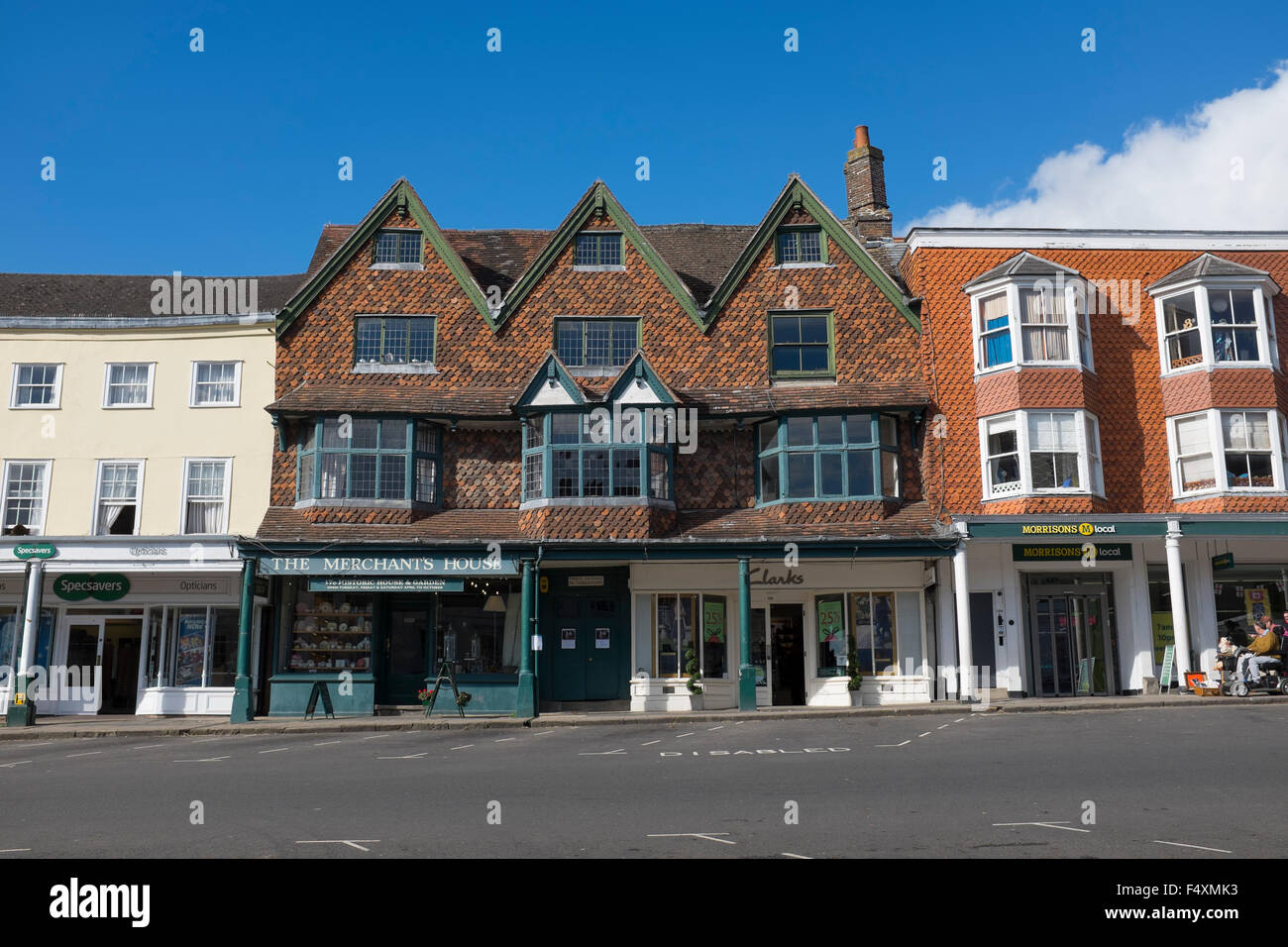 The Merchants House Marlborough Wiltshire - Stock Image