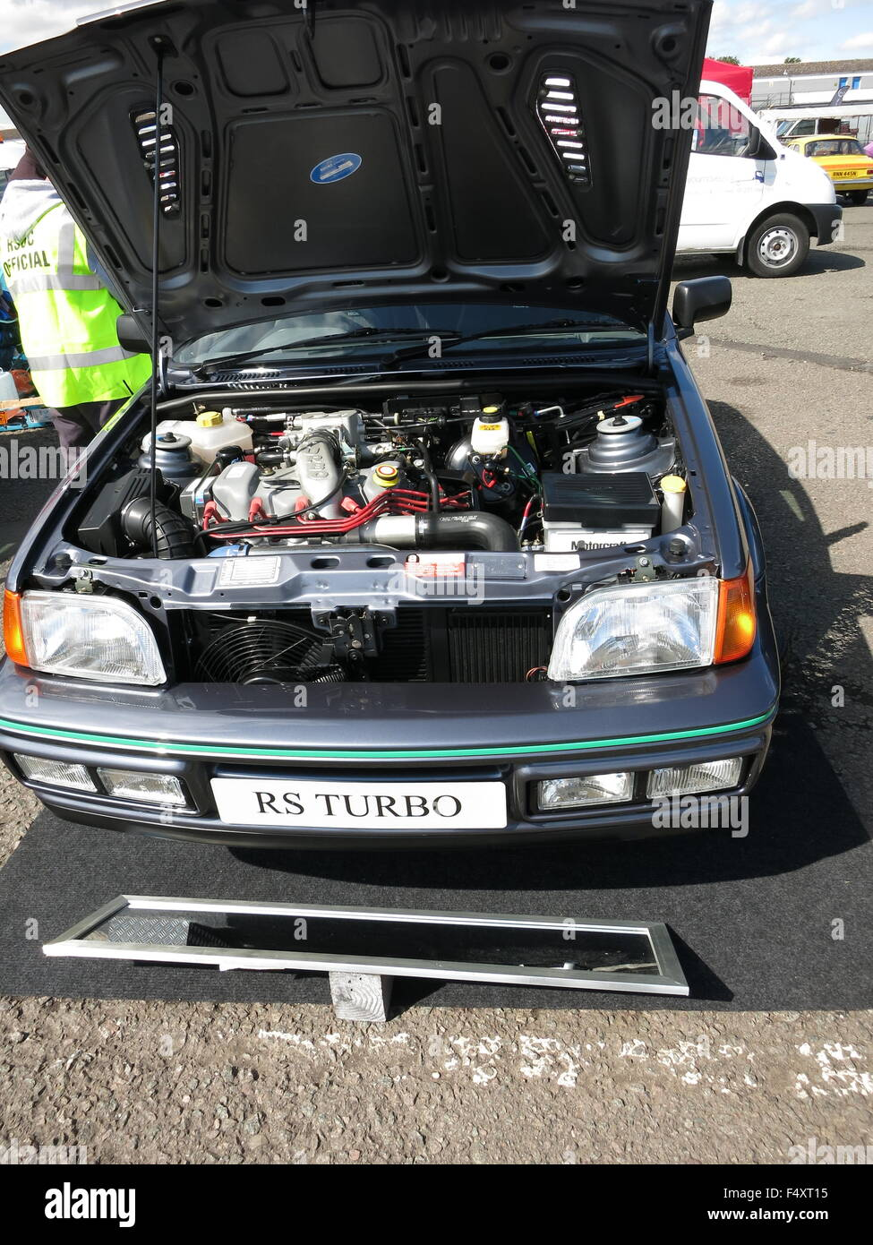 Ford Fiesta Mk Rs Turbo Mercury Grey Example Concours Car At Rsoc Rs Owners Club