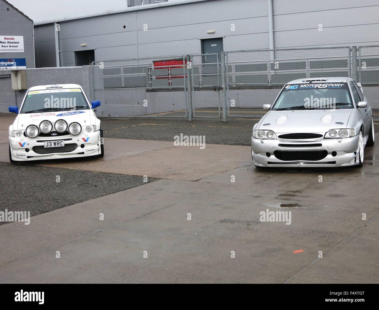Ford Escort WRC World rally car and WRC replica road car