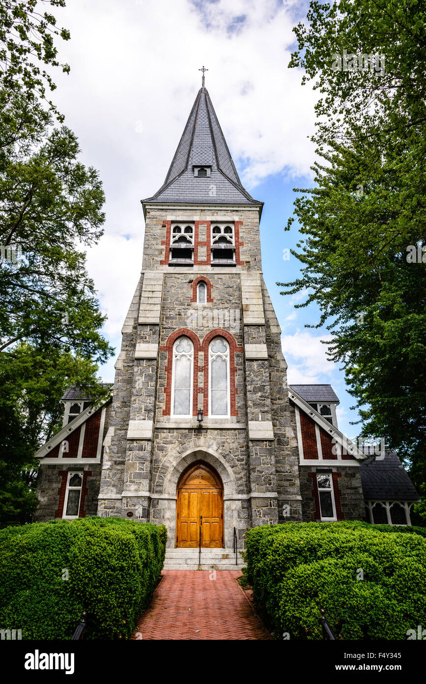 Christ Church, 301 South Talbot Street, St. Michaels, Maryland - Stock Image