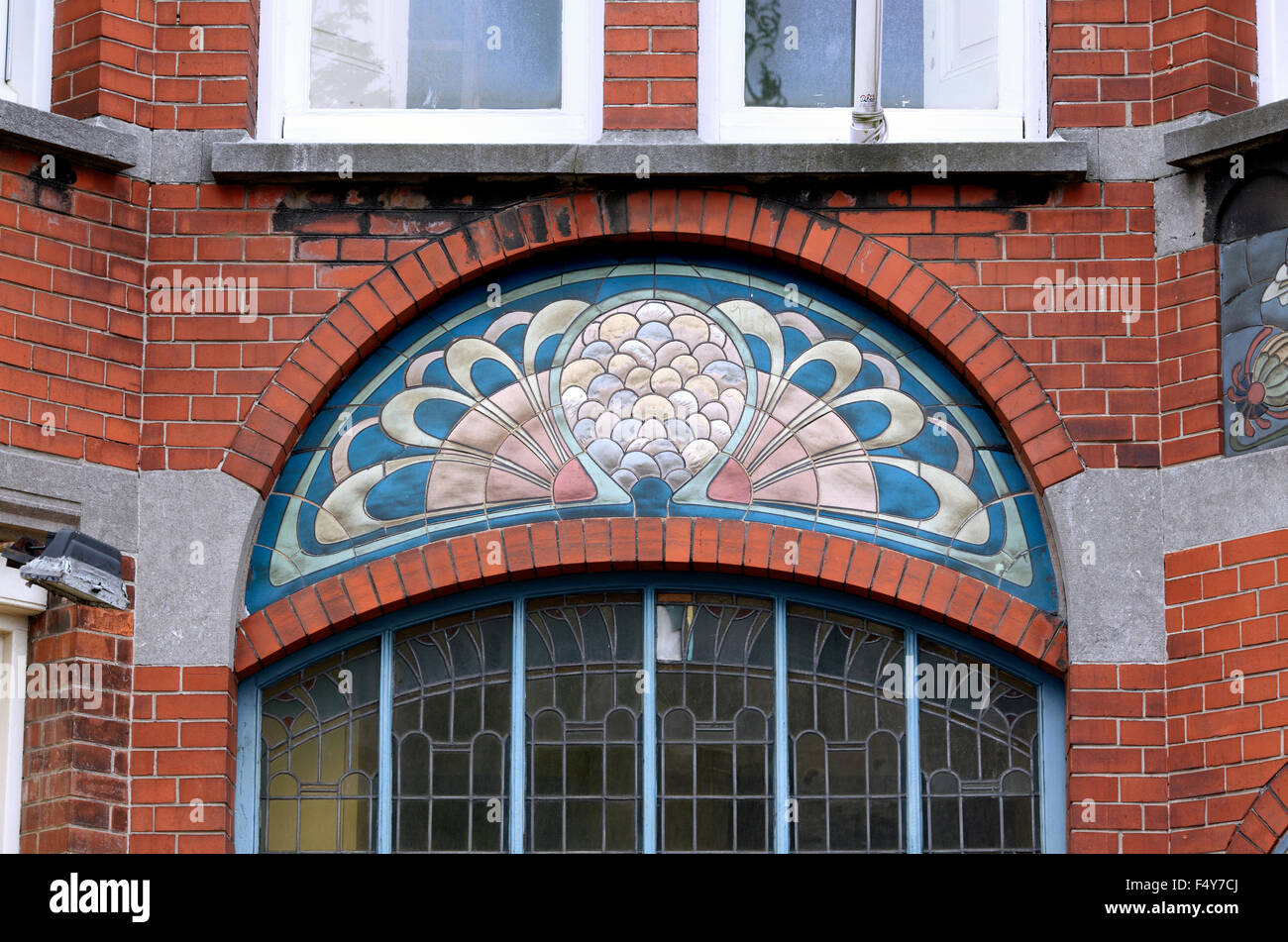 Art Deco Den Haag.Art Nouveau Detail On Building Laan Van Meerdervoort 164 T
