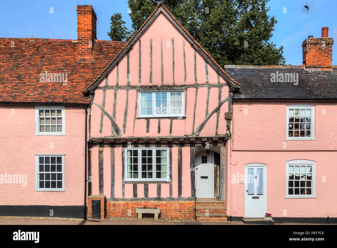 Lavenham, Suffolk, England, United Kingdom - Stock Image