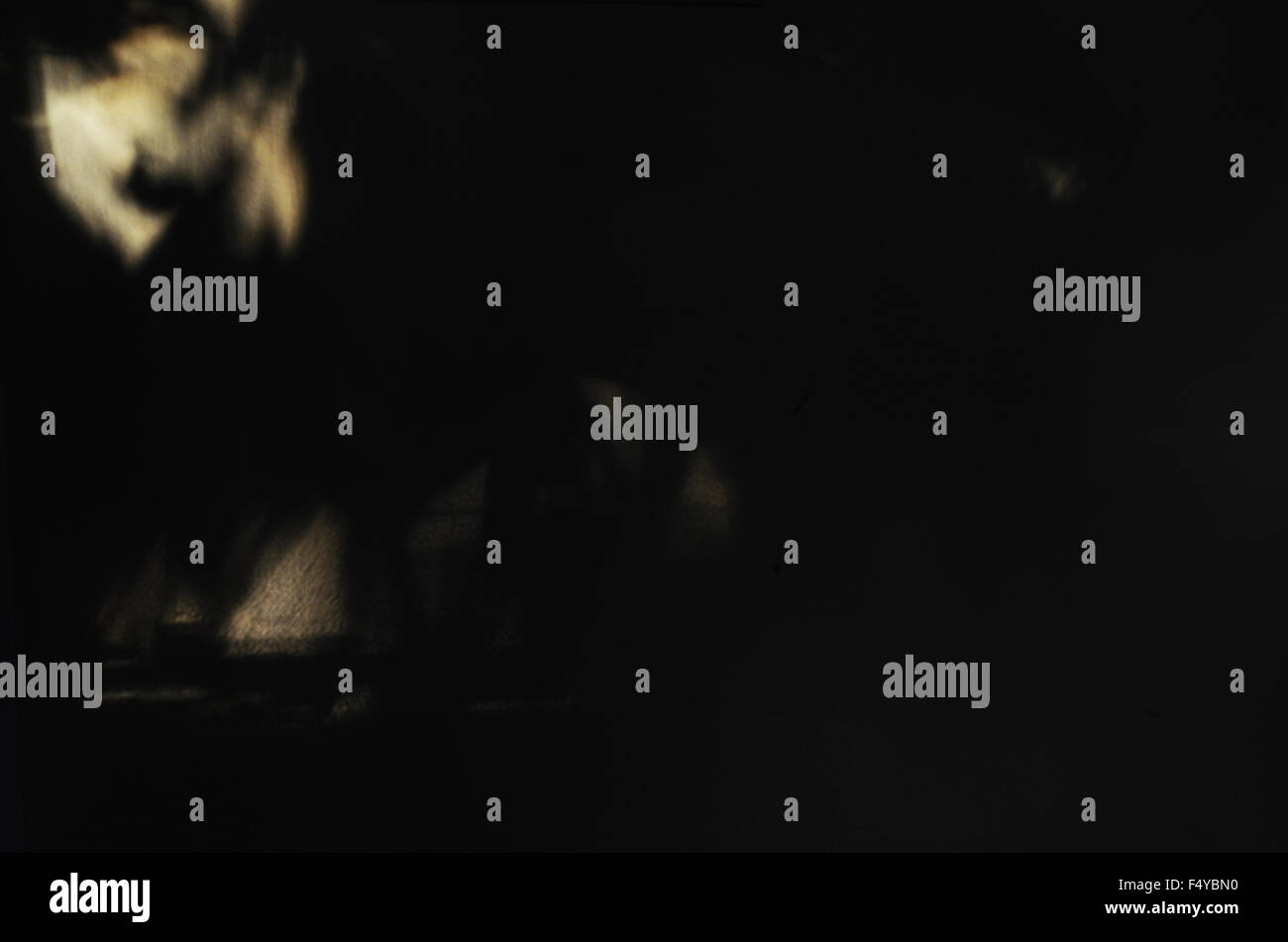 halloween shadows dark darkness scary black images depression angel spiritual - Stock Image
