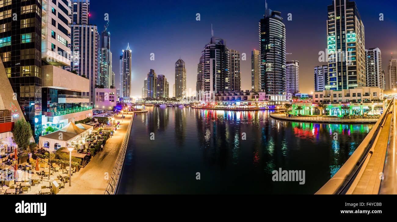 city lights scene