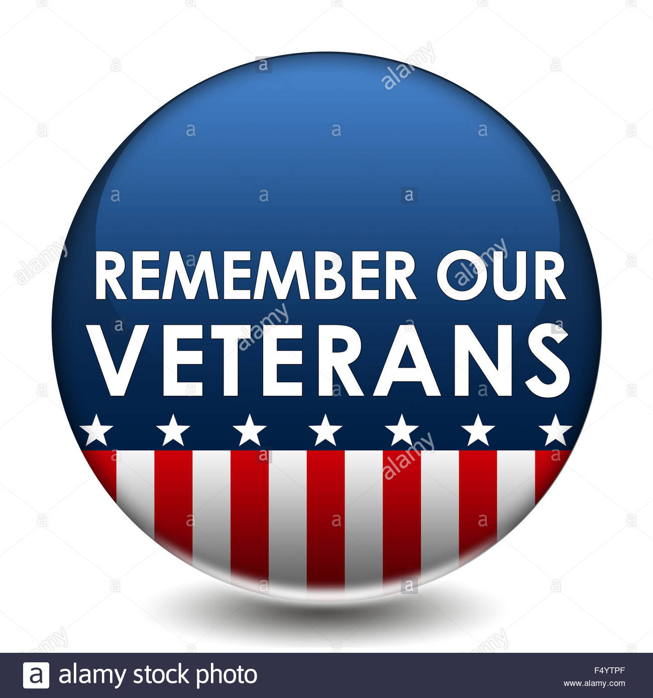 Remember our Veterans - Stock Image