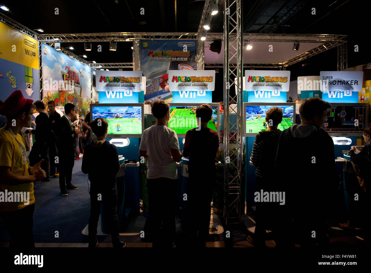 Expo Stands 2015 : Warsaw poland th oct trade fair show games expo stands