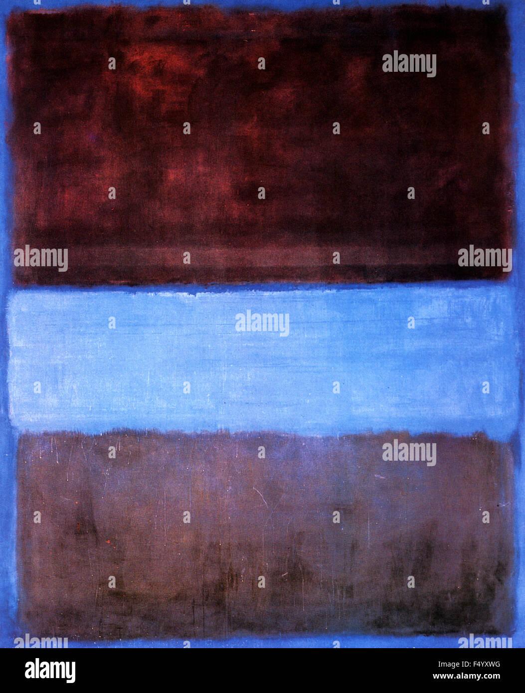 Mark Rothko - No 21. - Stock Image