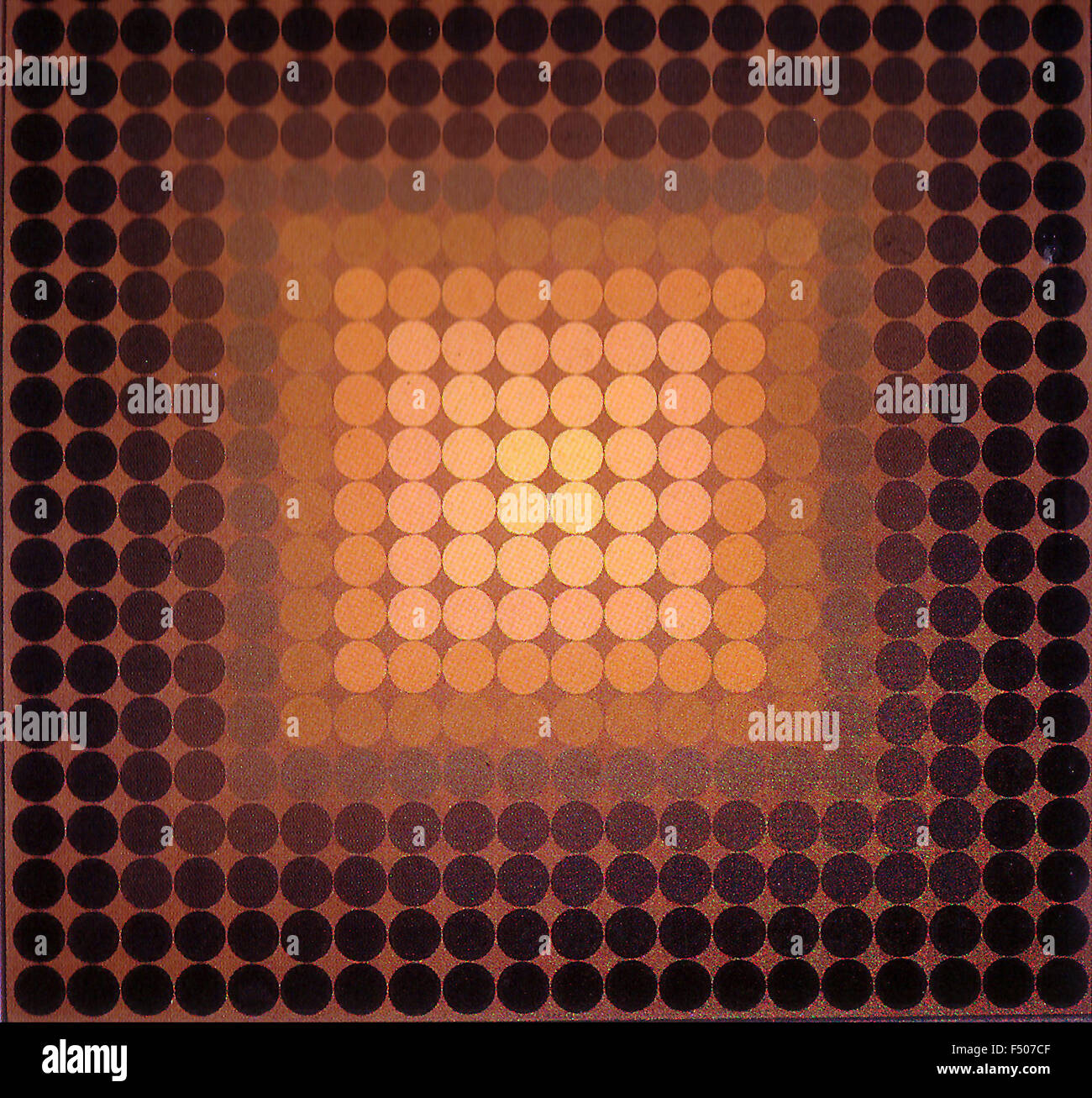 Victor Vasarely - CTA Phil - Stock Image