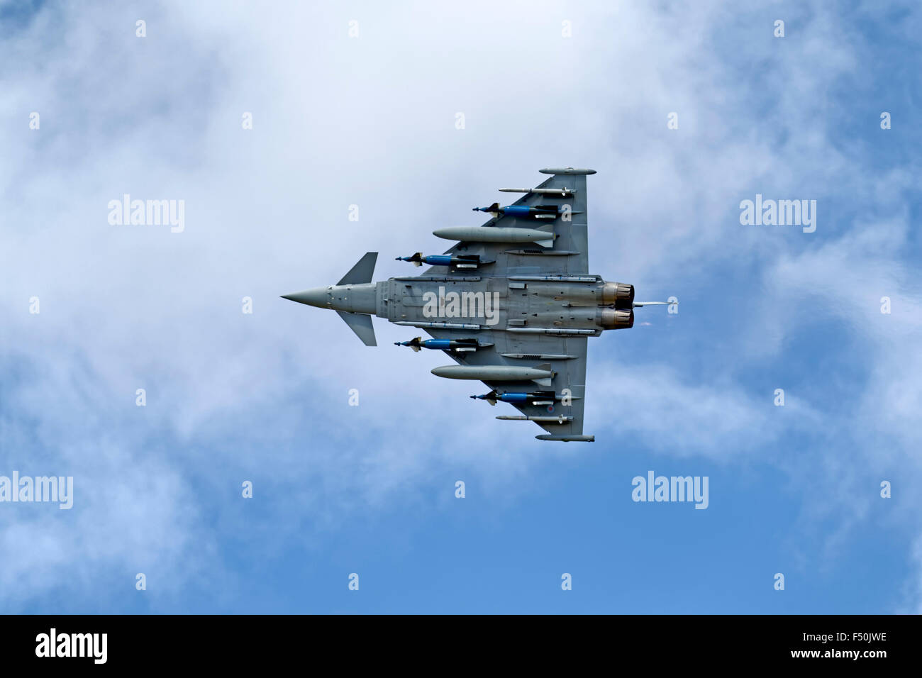 Built as an FGR.4,Typhoon IPA5 ZJ700 has been modified as a weapons systems development aircraft and is operated Stock Photo