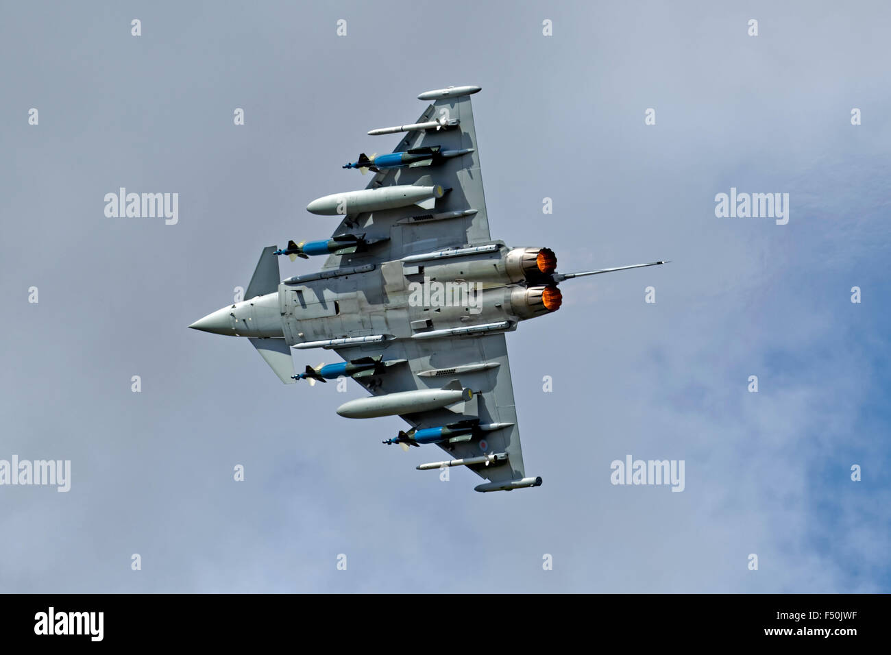 Built as an FGR.4,Typhoon IPA5 ZJ700 has been modified as a weapons systems development aircraft and is operated - Stock Image