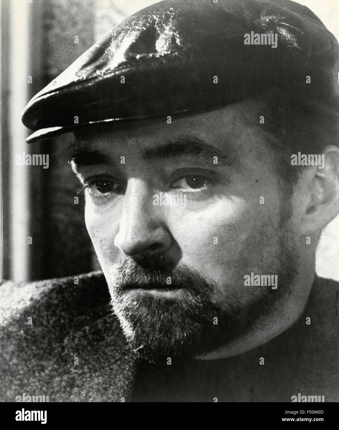 The actor Oskar Werner in a scene from the film 'The Spy Who Came in from the Cold' , UK 1963 - Stock Image