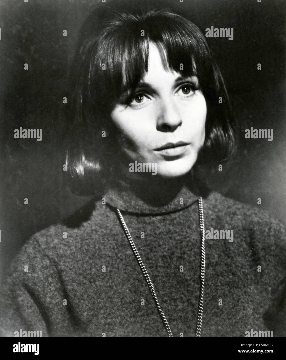 The actress Claire Bloom in a scene from the film 'The Spy Who Came in from the Cold' , UK 1963 - Stock Image