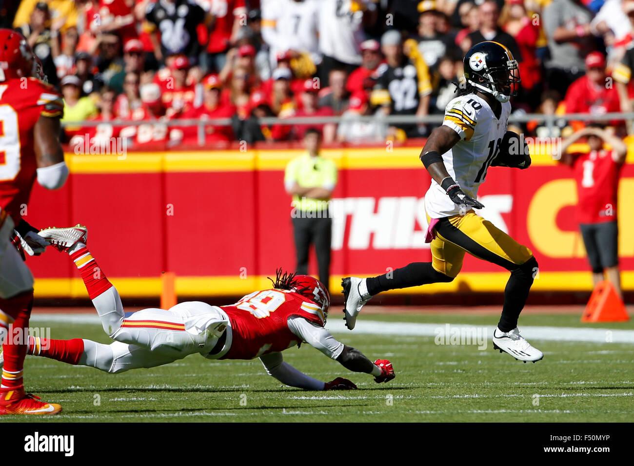 October 25 2105 Pittsburgh Steelers Wide Receiver Martavis