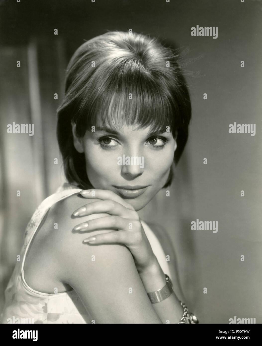 The Italian actress Elsa Martinelli in the movie 'Hatari!', USA - Stock Image