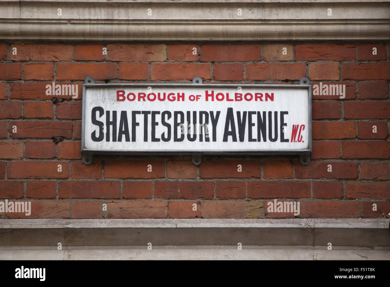 Shaftesbury Avenue, West End, London, England, United Kingdom - Stock Image