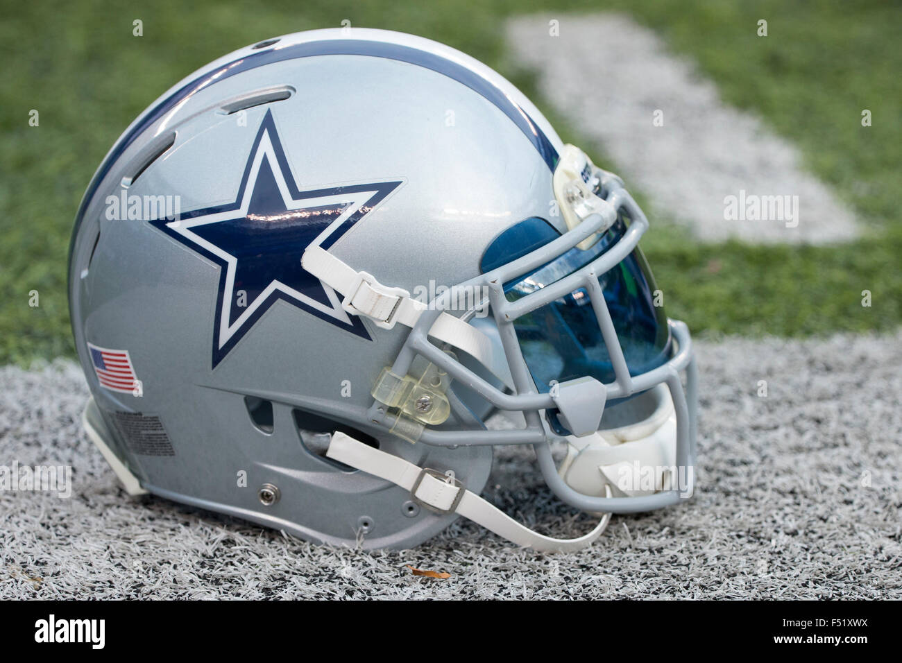d6bfacfd7 East Rutherford, New Jersey, USA. 25th Oct, 2015. Dallas Cowboys helmet