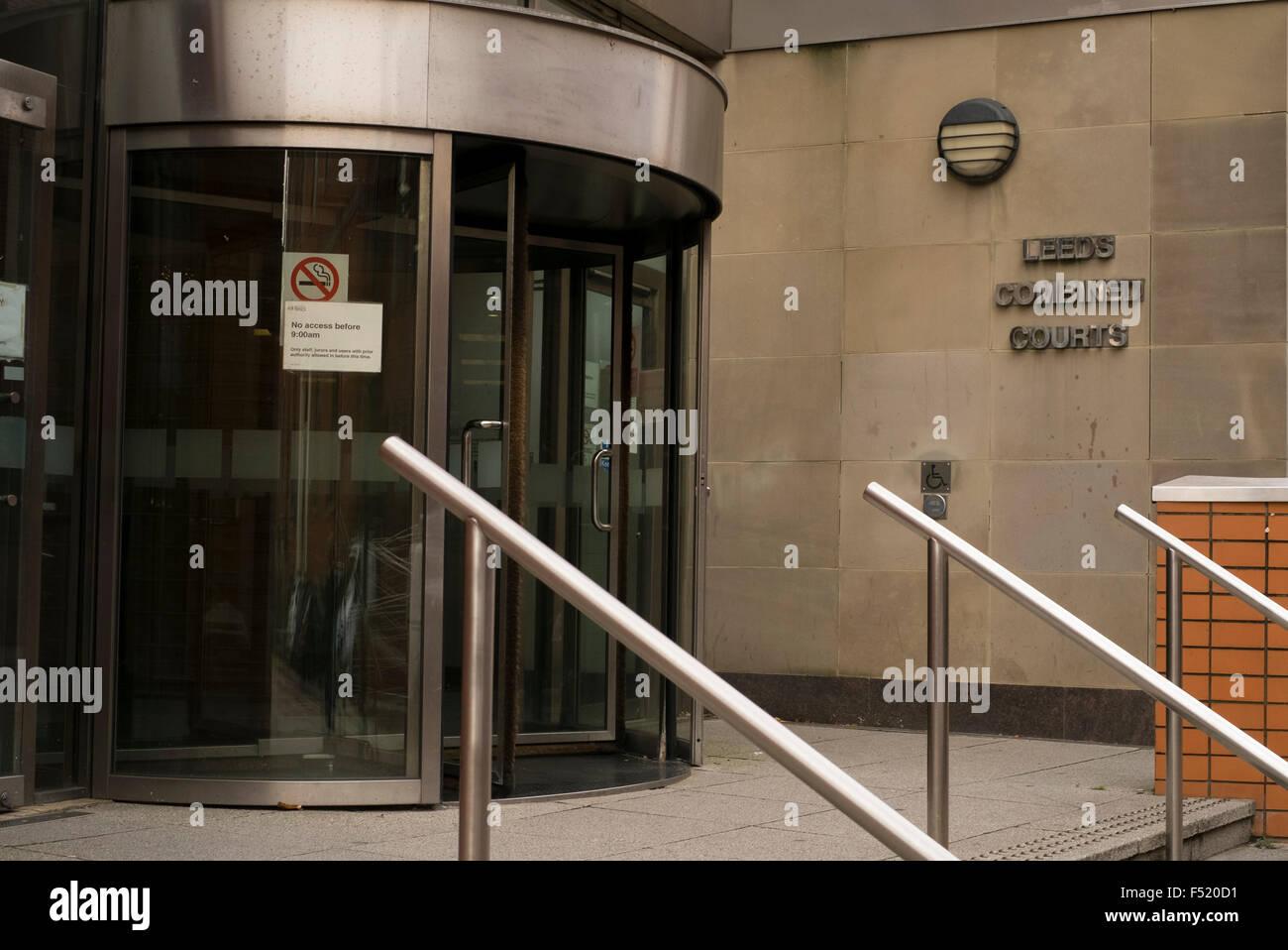 The Leeds Combined Court Centre Leeds, West Yorkshire, UK - Stock Image