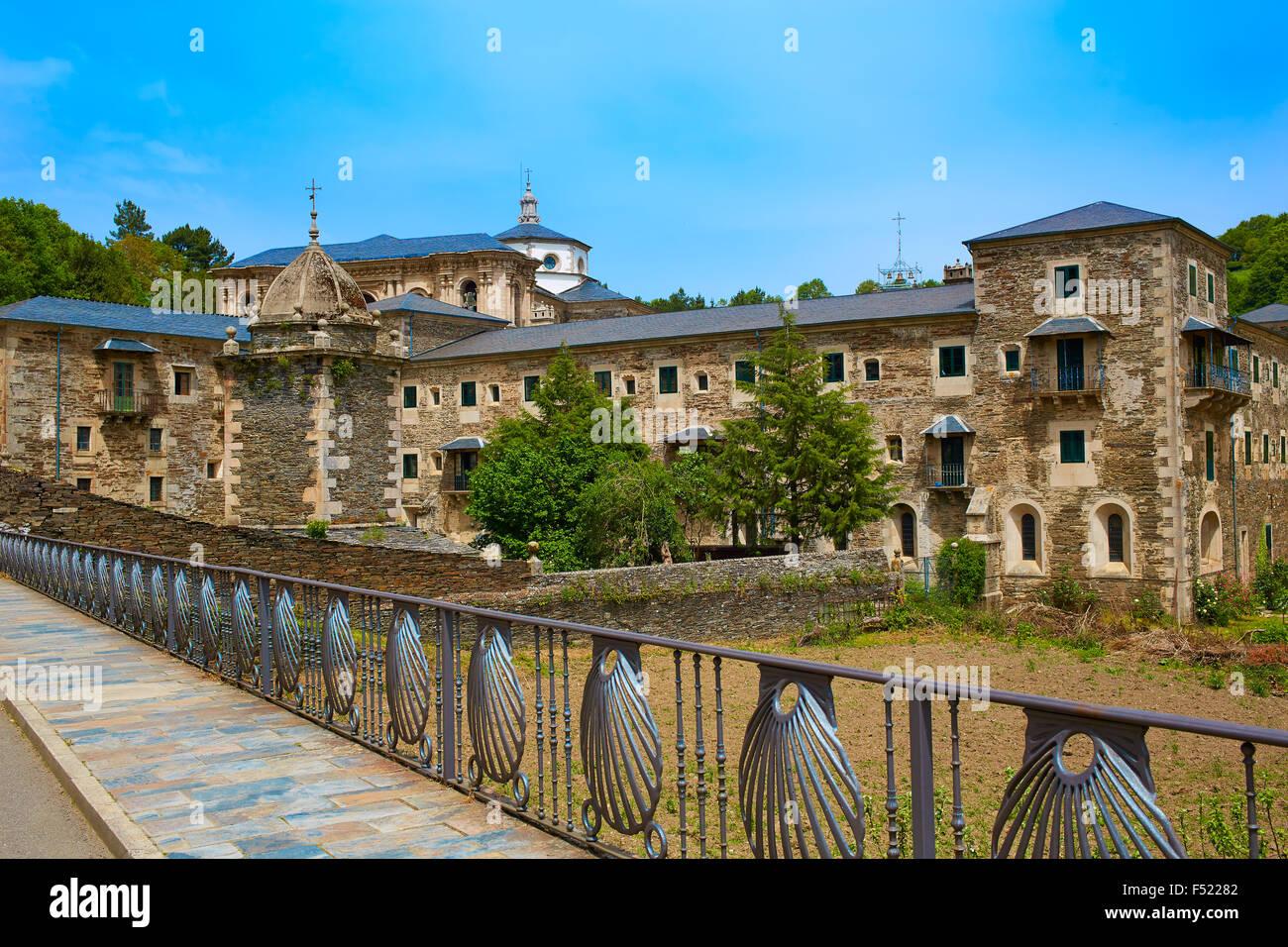 Samos Monastery By The Way Of Saint James In Galicia Lugo Stock Photo Alamy