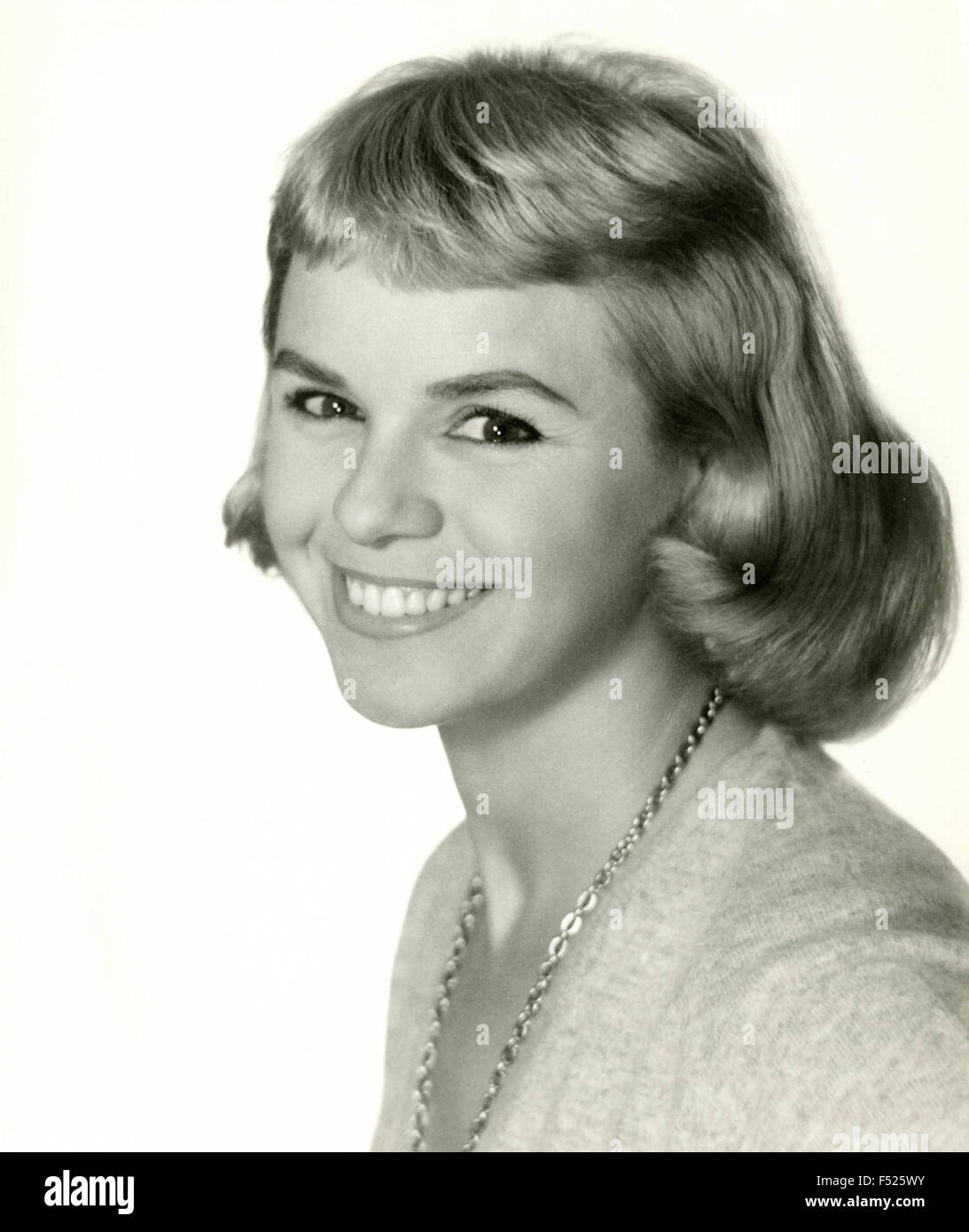 The French actress Genevieve Cluny, France Stock Photo