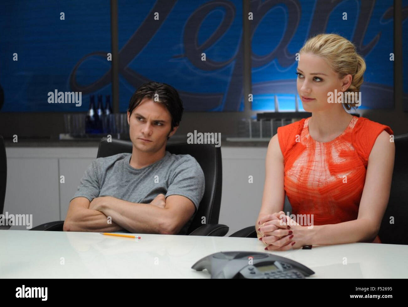 SYRUP 2013 Magnolia Pictures film with Amber Heard and Shiloh Fernandez - Stock Image