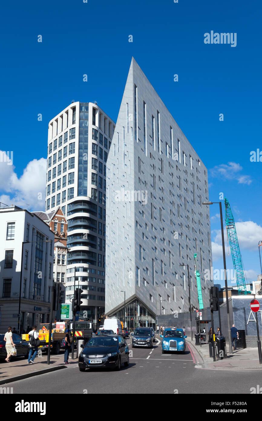 Montcalm Shoreditch: London Street Montcalm Building London Stock Photos