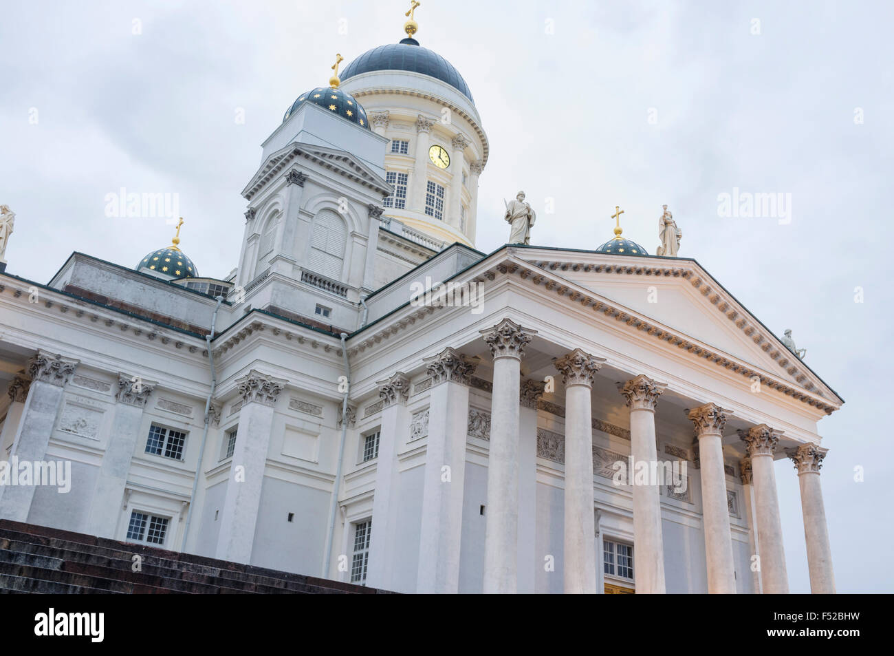 Lutheran Cathedral.  Helsinki, Finland - Stock Image