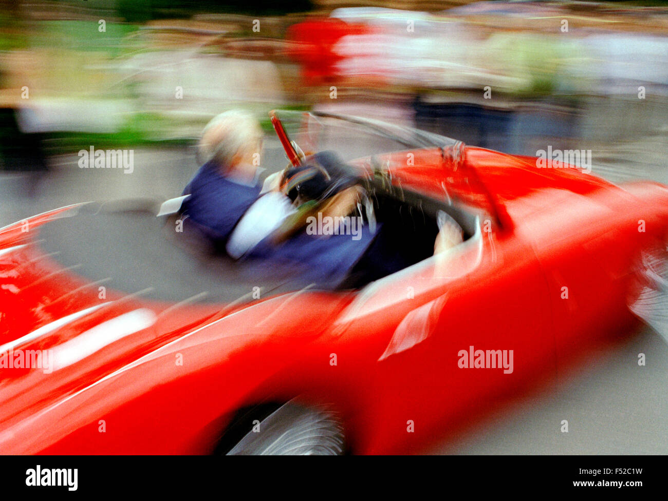Italy, Lombardy, Meeting of Vintage Car. - Stock Image