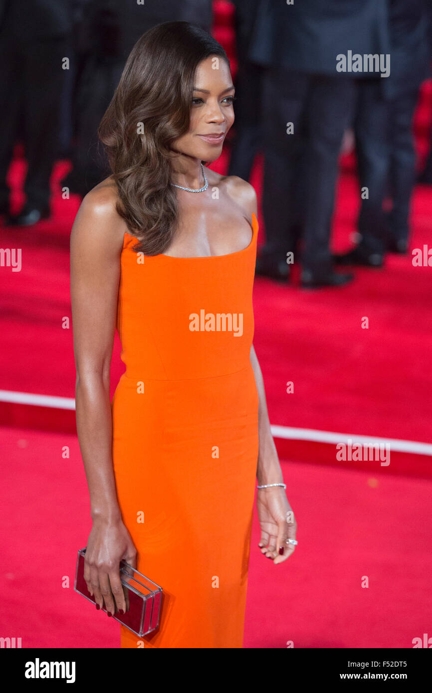 London, UK. 26th October, 2015. Actress Naomie Harris attends the premiere. CTBF Royal Film Performance, World Premiere - Stock Image