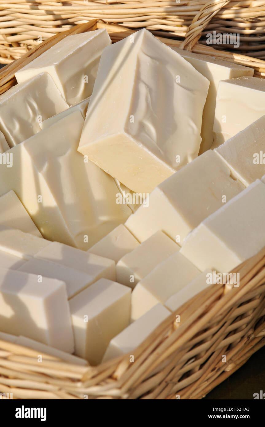 Natural Soaps Stock Photo