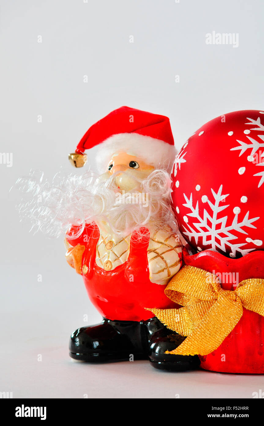 Santa Claus figure - Stock Image
