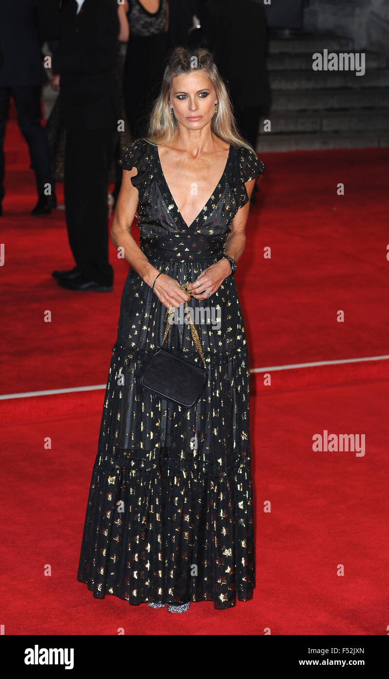 London, Uk. 26th Oct, 2015. Laura Bailey attends the Royal World Premiere of 'Spectre' at Royal Albert Hall. - Stock Image
