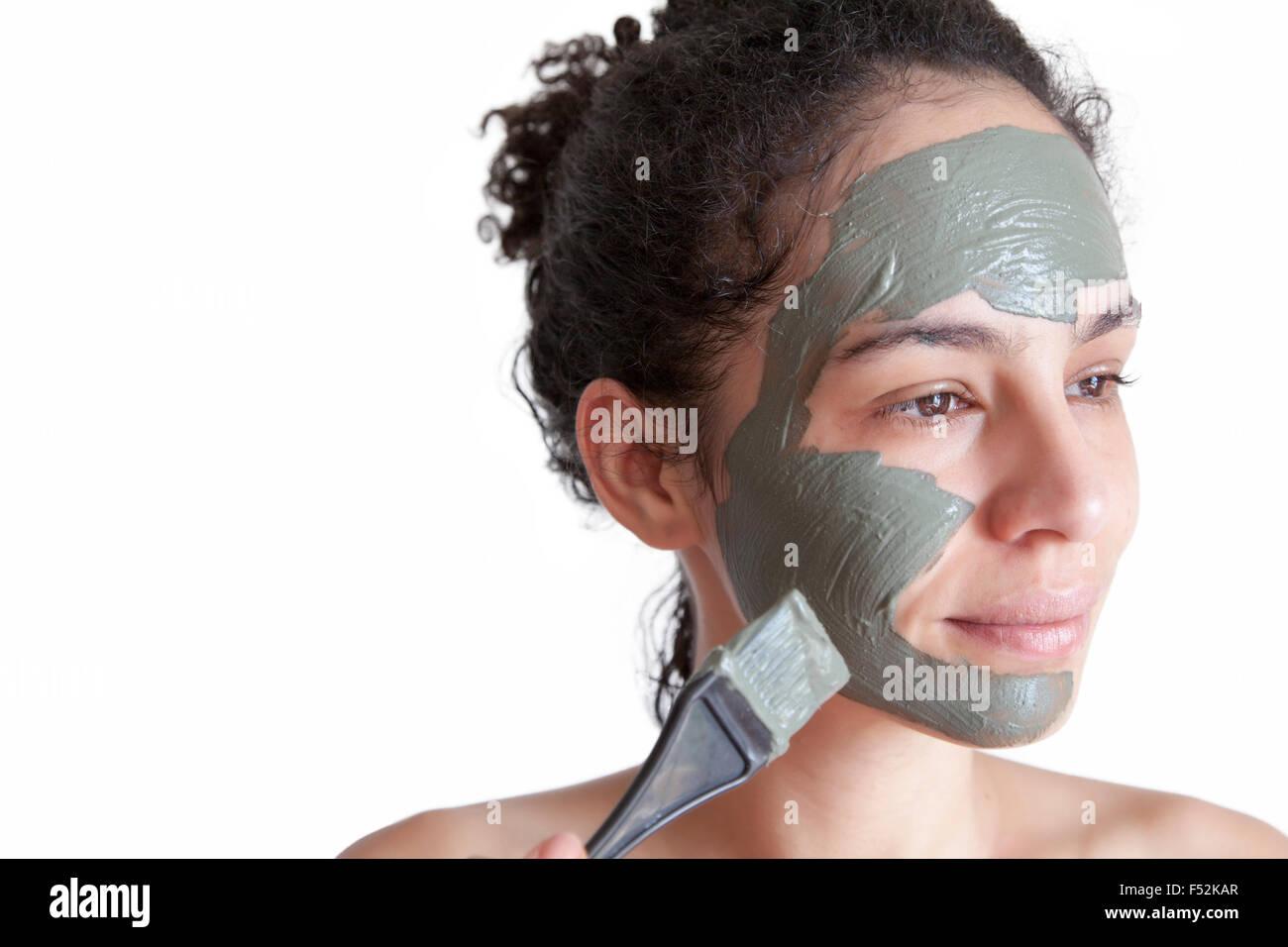 Brazilian girl facial