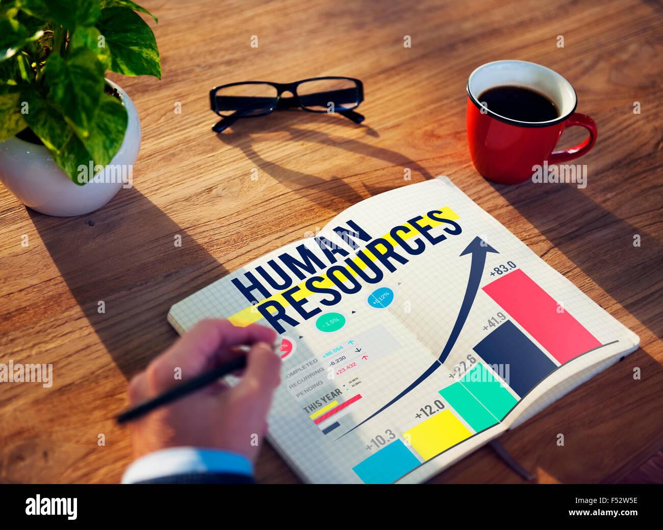 Human Resources Hiring Job Accupation Concept Stock Photo