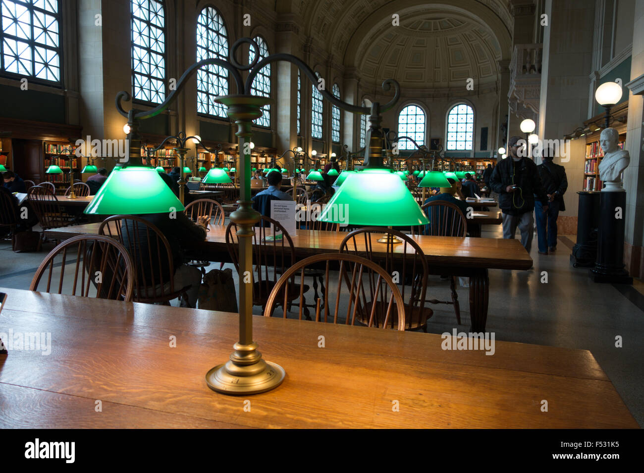 Genial Boston Library Desk Lamp
