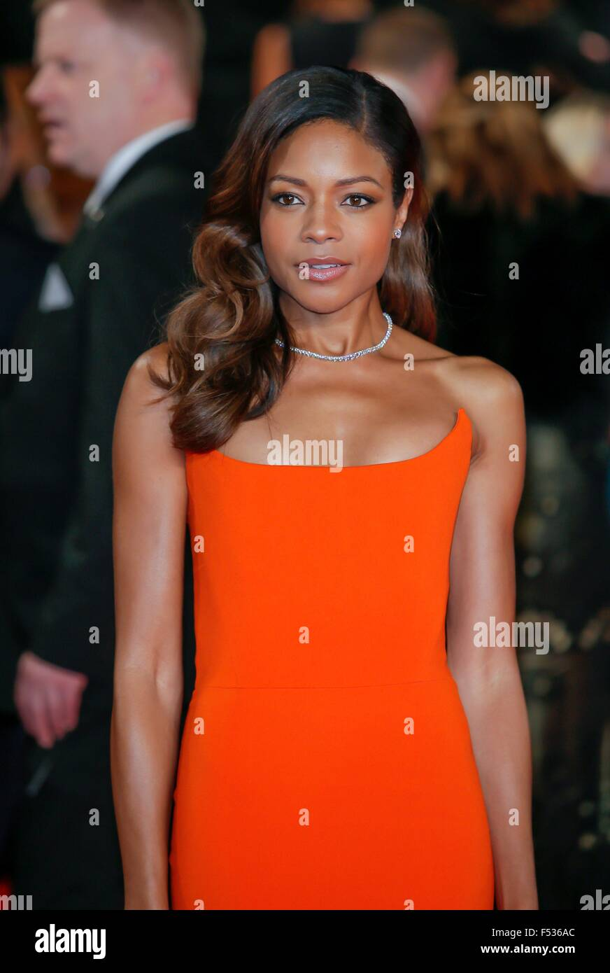 London, Britain. 26th Oct, 2015. British actress/cast member Naomie Harris attends the world premiere of the new - Stock Image