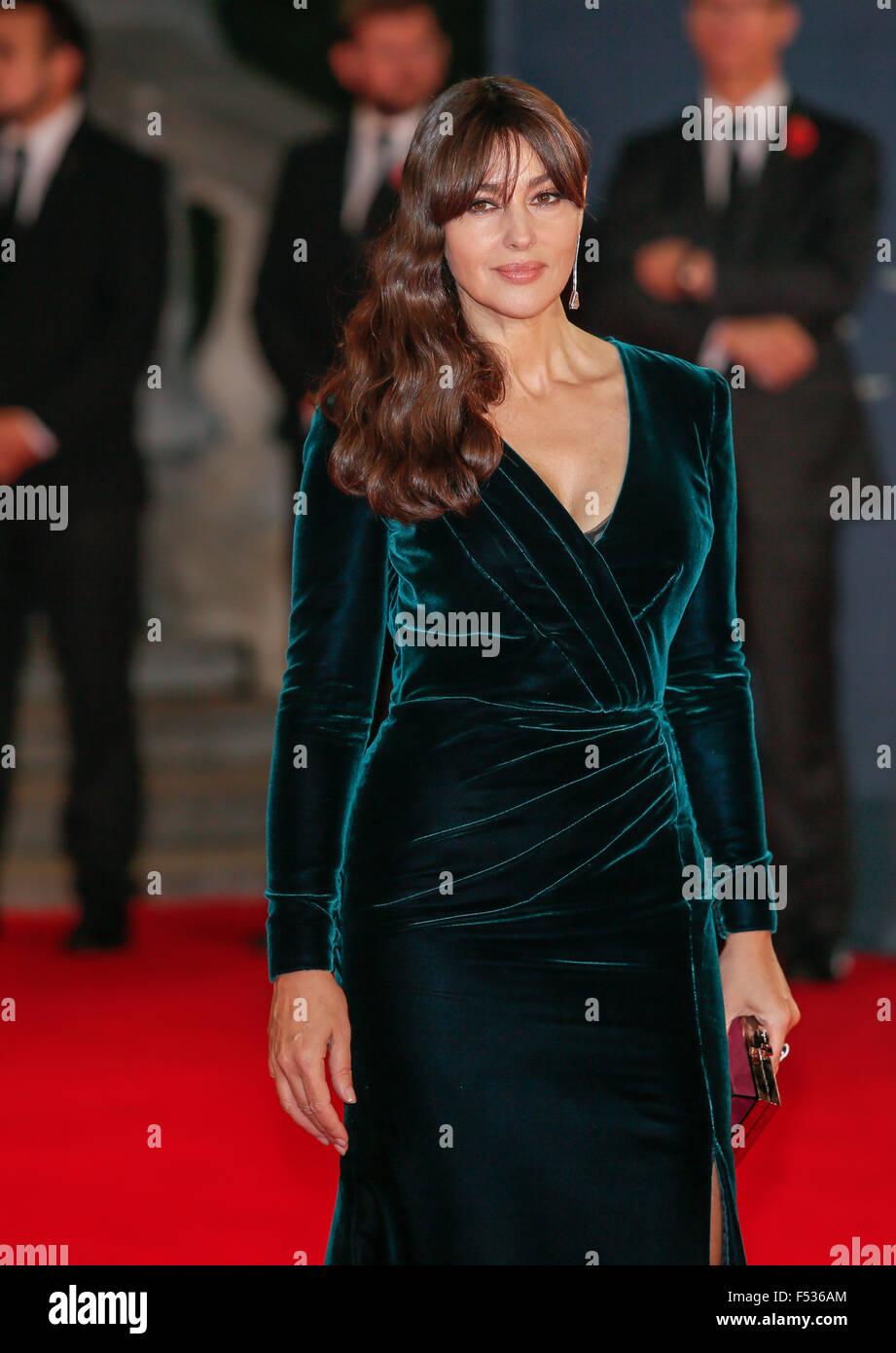 London, Britain  26th Oct, 2015  Italian actress/cast member