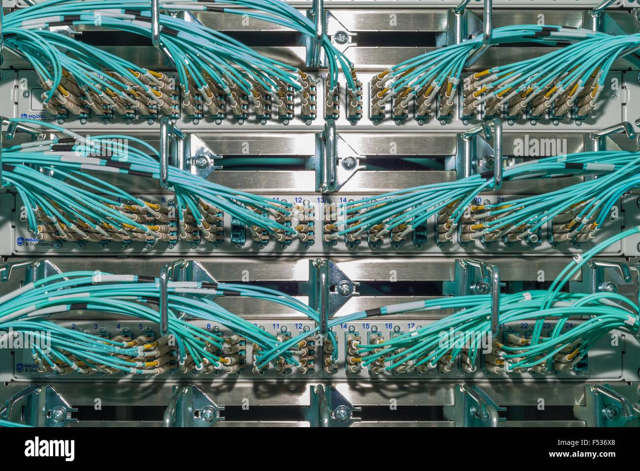 Fiber Optic Wiring Stock Photos & Fiber Optic Wiring Stock Images ...