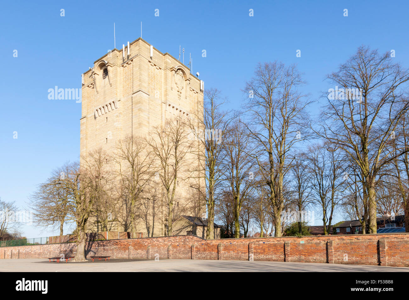 Westgate Water Tower, Lincoln, UK - Stock Image