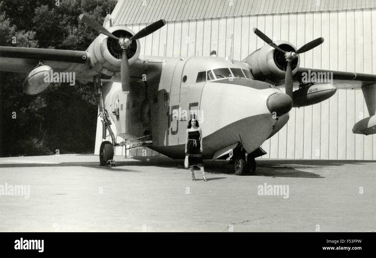 Aircraft Grumman SA -16A Albatros - Stock Image