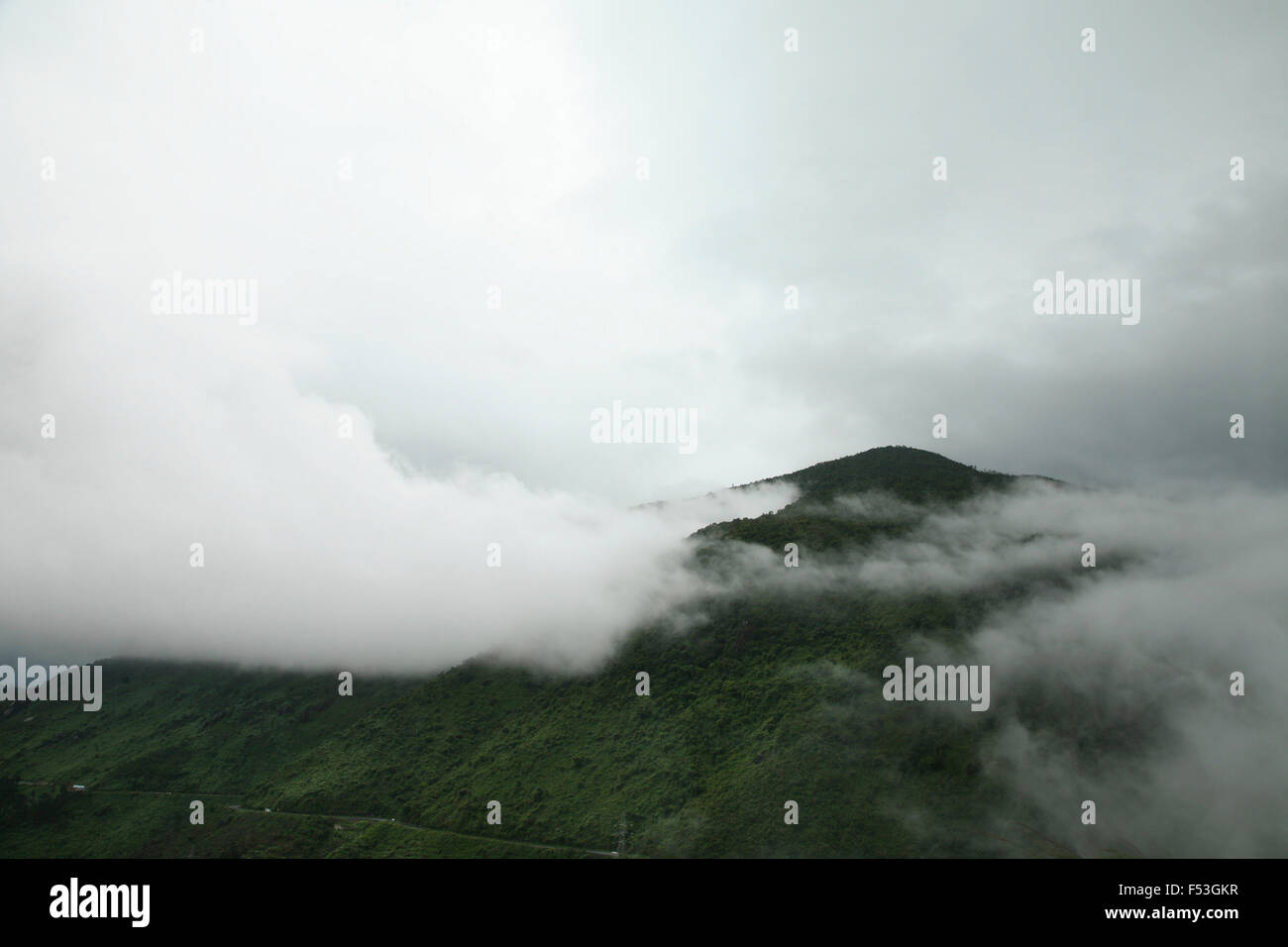 Asia, Vietnam, Deo Hai Van, Hai Van Pass (pass of the sea clouds) Stock Photo