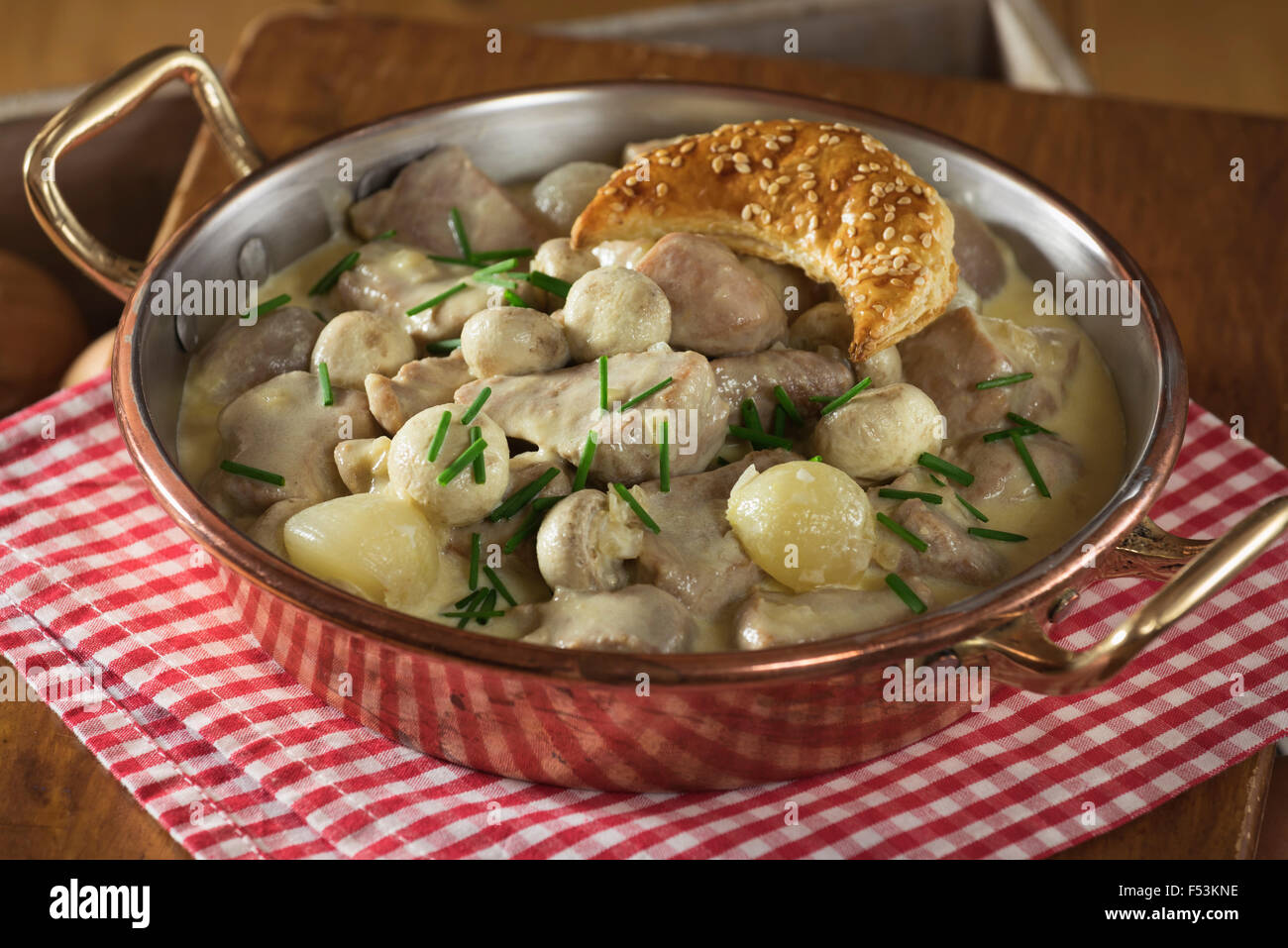 Traditional French Dish Blanquette De Stock Photos Traditional