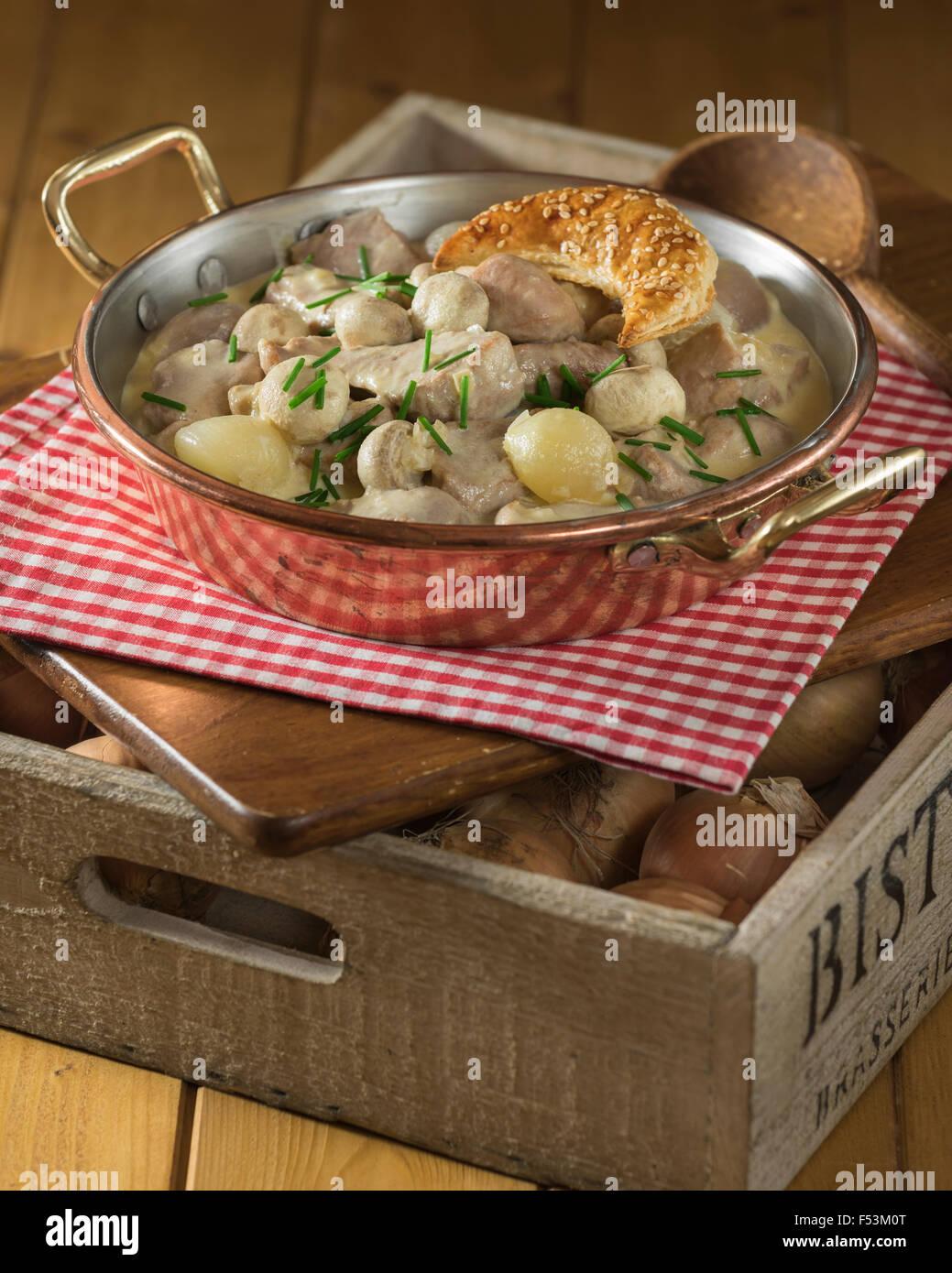 Blanquette De Veau Veal Stew Stock Photos Blanquette De Veau Veal