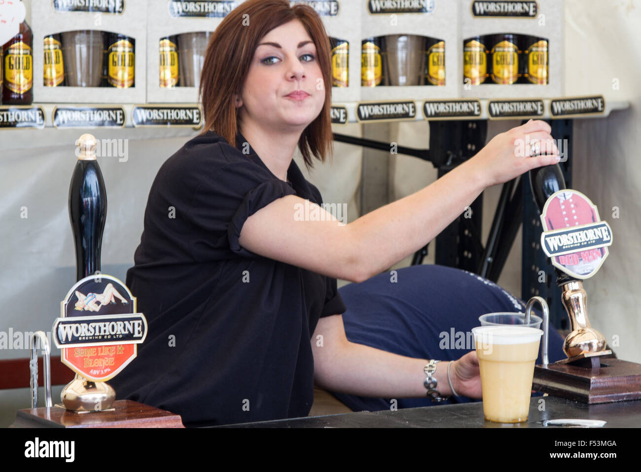 mines a pint - Stock Image