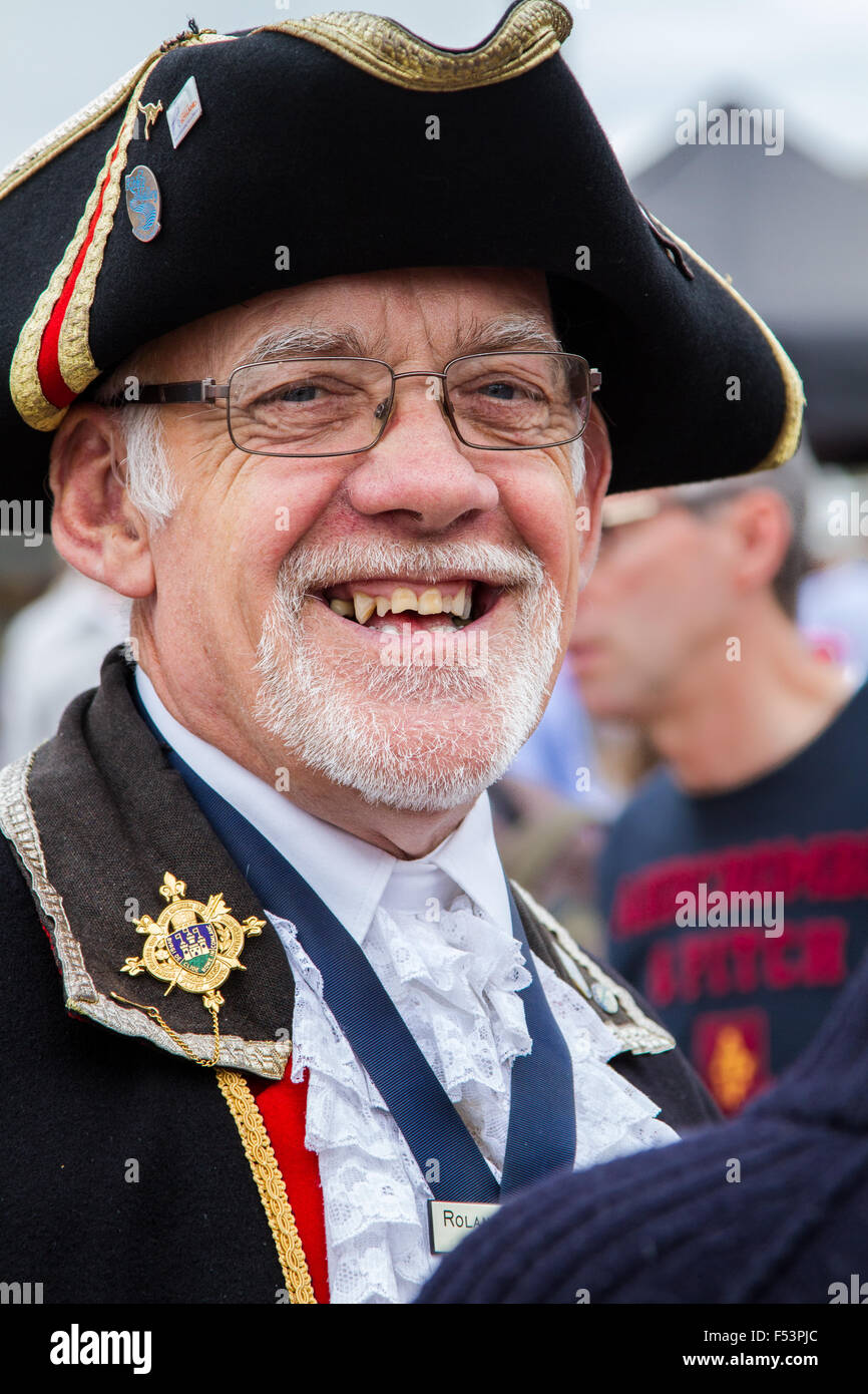 The Town Crier Oyez - Stock Image