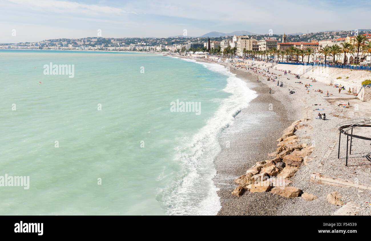 Nice, Cote d'Azur, French Riviera - Stock Image
