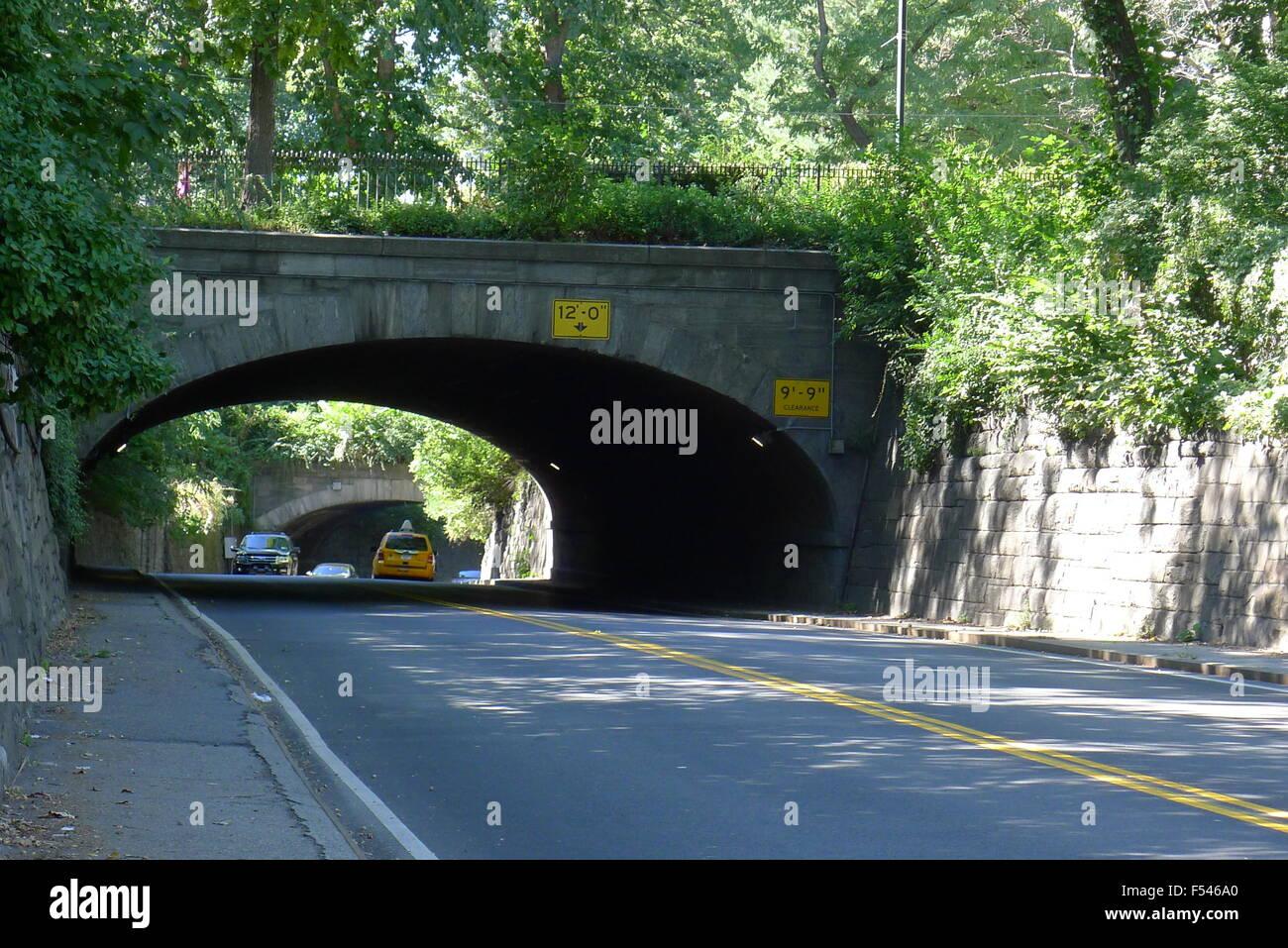 65th Street Transverse Through Central Park