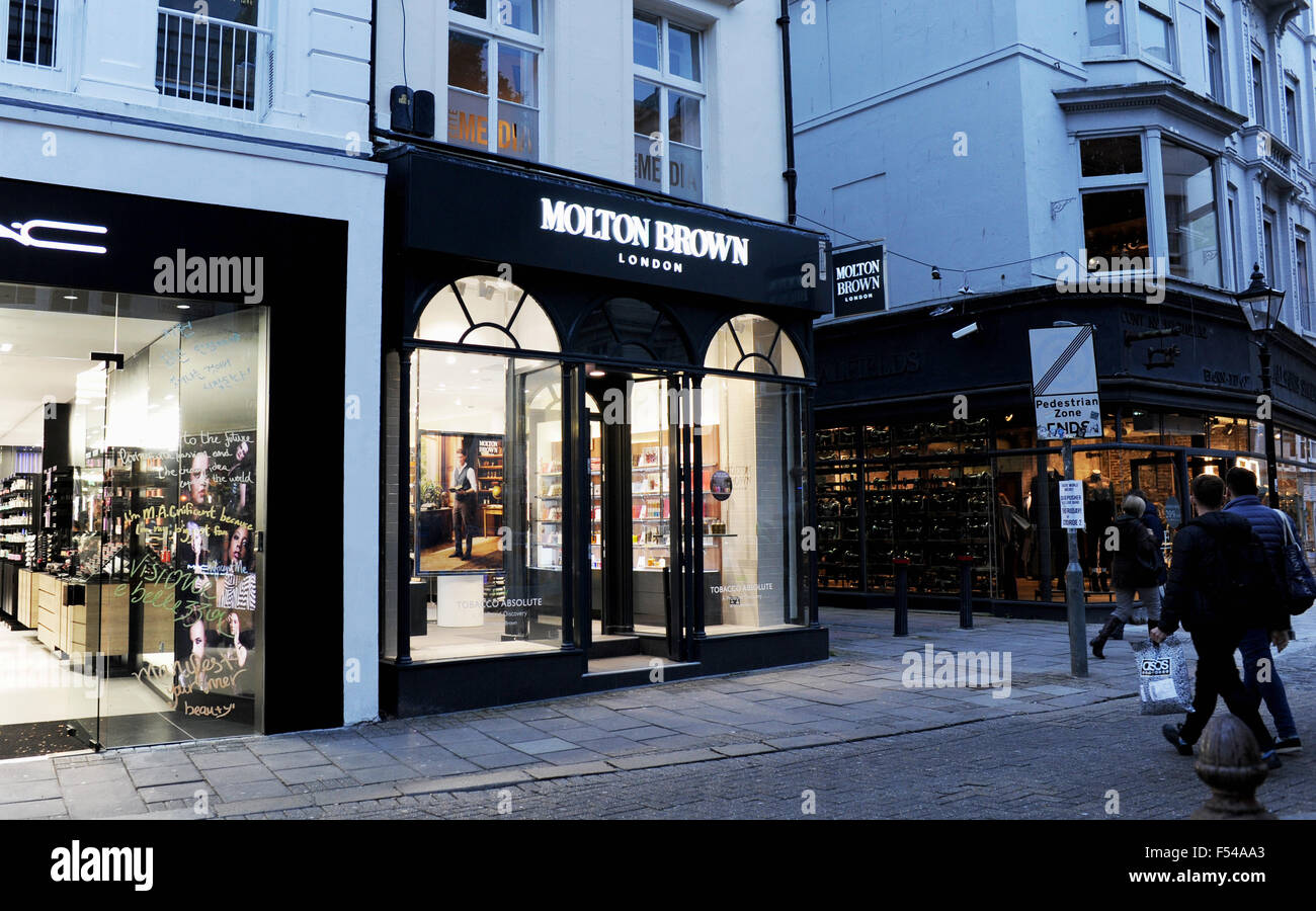 Molton Brown shop in East Street Brighton UK - Stock Image