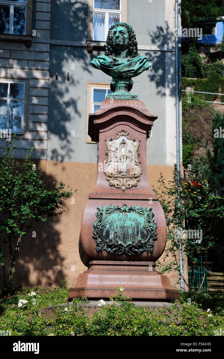 Meißen Saxony Johann Friedrich Böttger Inventor of porcelain - Stock Image
